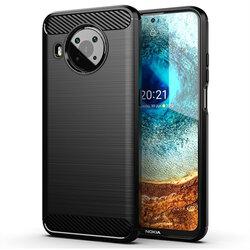 Husa Nokia X20 TPU Carbon - Negru