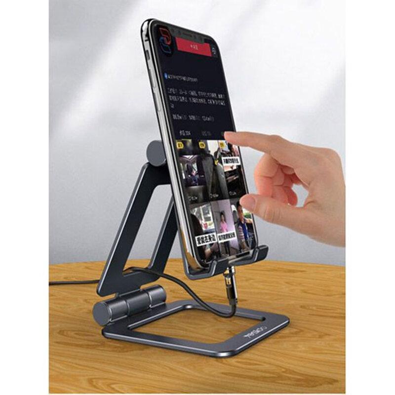 Suport telefon birou, tableta Yesido C98, portabil, negru