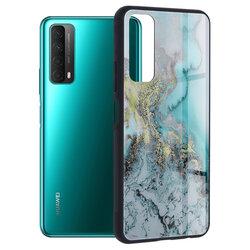 Husa Huawei P Smart 2021 Techsuit Glaze, Blue Ocean
