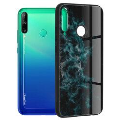 Husa Huawei P40 Lite E Techsuit Glaze, Blue Nebula