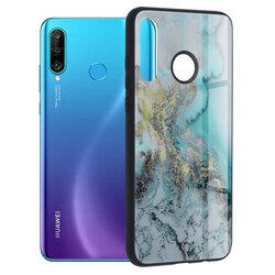 Husa Huawei P30 Lite Techsuit Glaze, Blue Ocean
