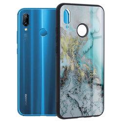 Husa Huawei P20 Lite Techsuit Glaze, Blue Ocean