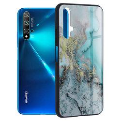 Husa Huawei Nova 5T Techsuit Glaze, Blue Ocean