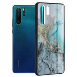 Husa Huawei P30 Pro Techsuit Glaze, Blue Ocean