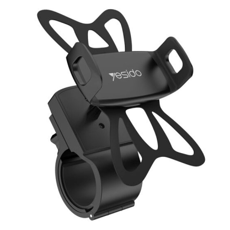 Suport de telefon pentru bicicleta Yesido C42, universal, negru