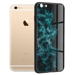 Husa iPhone 6 Plus / 6s Plus Techsuit Glaze, Blue Nebula