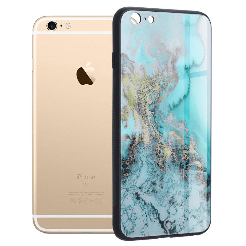 Husa iPhone 6 Plus / 6s Plus Techsuit Glaze, Blue Ocean