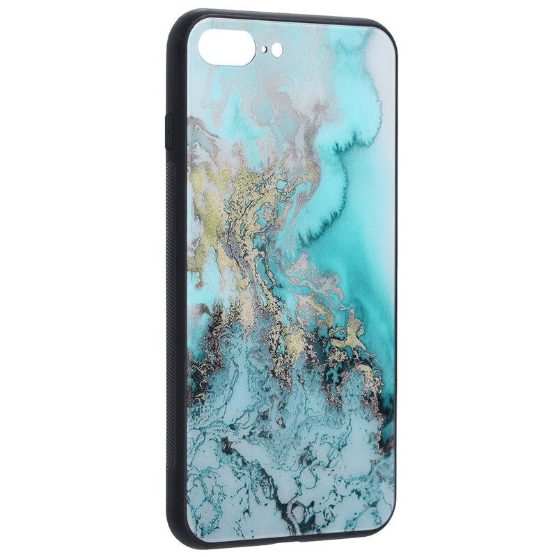 Husa iPhone 7 Plus Techsuit Glaze, Blue Ocean
