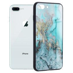 Husa iPhone 8 Plus Techsuit Glaze, Blue Ocean