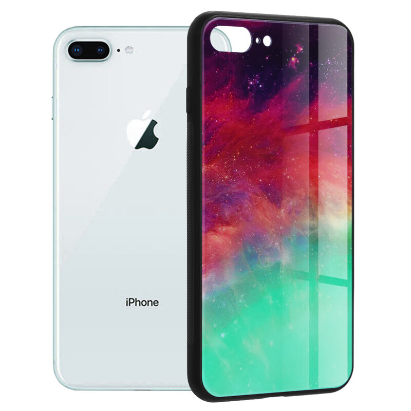 Husa iPhone 7 Plus Techsuit Glaze, Fiery Ocean