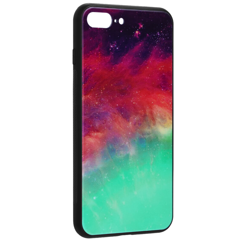 Husa iPhone 8 Plus Techsuit Glaze, Fiery Ocean