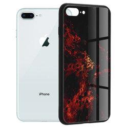 Husa iPhone 7 Plus Techsuit Glaze, Red Nebula