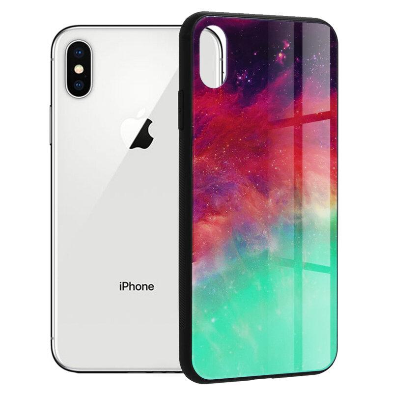 Husa iPhone XS Techsuit Glaze, Fiery Ocean
