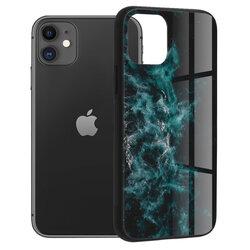 Husa iPhone 11 Techsuit Glaze, Blue Nebula