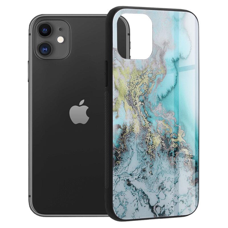 Husa iPhone 11 Techsuit Glaze, Blue Ocean