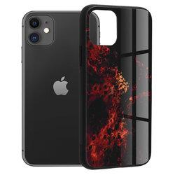 Husa iPhone 11 Techsuit Glaze, Red Nebula