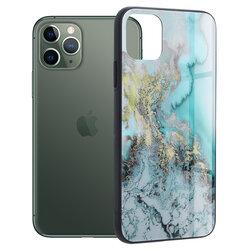 Husa iPhone 11 Pro Techsuit Glaze, Blue Ocean