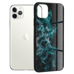 Husa iPhone 11 Pro Max Techsuit Glaze, Blue Nebula