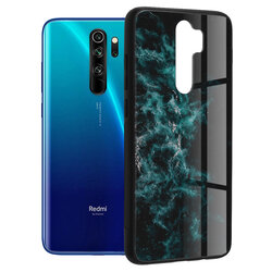 Husa Xiaomi Redmi Note 8 Pro Techsuit Glaze, Blue Nebula