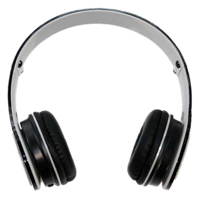 Casti on-ear Gjby, extra bass, stereo, Jack 3.5mm, negru, GJ-19