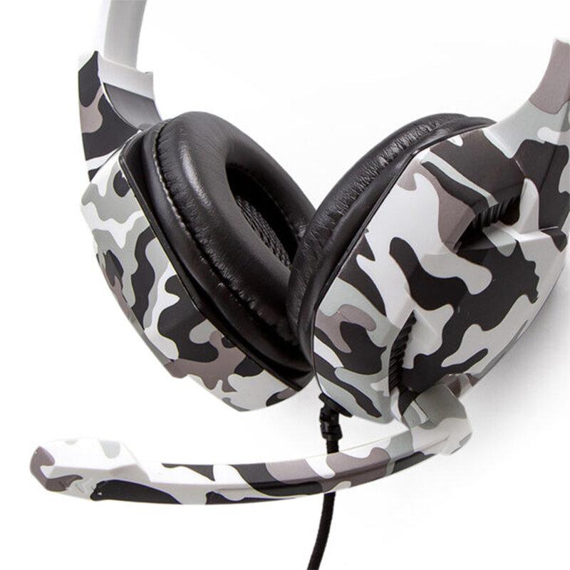 Casti gaming on-ear cu microfon Gjby G2, stereo, Jack 3.5mm, gri
