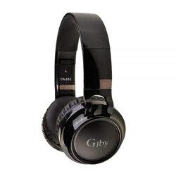 Casti wireless on-ear Gjby, Bluetooth, stereo, negru, CA-015