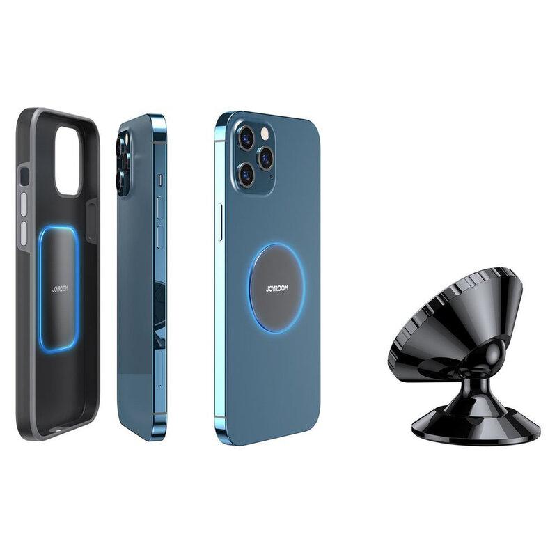 Suport telefon auto magnetic JoyRoom JR-ZS260 cu adeziv, negru
