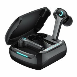 Casti wireless gaming earbuds JoyRoom, TWS Bluetooth, negru, JR-TP1