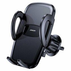 Suport telefon auto JoyRoom, grila ventilatie, negru, JR-ZS258
