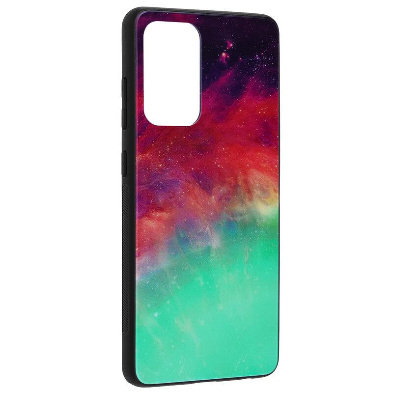 Husa Samsung Galaxy A72 5G Techsuit Glaze, Fiery Ocean