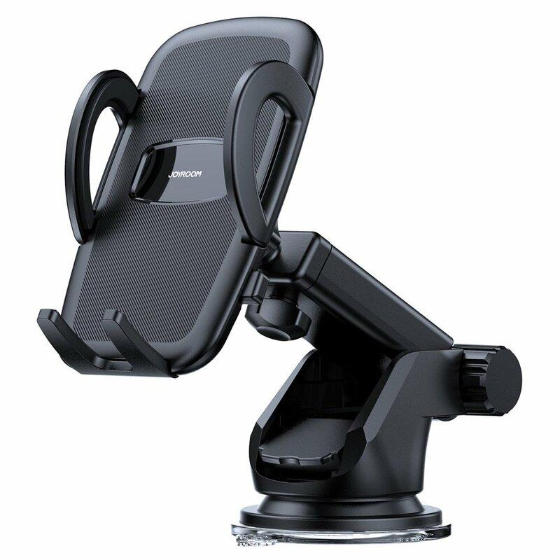 Suport telefon auto bord JoyRoom, brat telescopic, negru, JR-ZS258