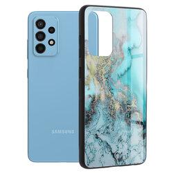 Husa Samsung Galaxy A52 4G Techsuit Glaze, Blue Ocean