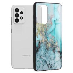 Husa Samsung Galaxy A52 5G Techsuit Glaze, Blue Ocean