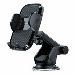 Suport telefon auto bord JoyRoom, brat telescopic, negru, JR-ZS259