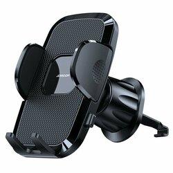 Suport telefon auto JoyRoom, grila ventilatie, negru, JR-ZS259