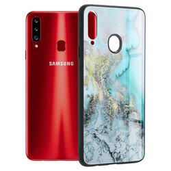Husa Samsung Galaxy A20s Techsuit Glaze, Blue Ocean