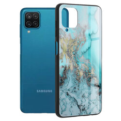 Husa Samsung Galaxy A12 Techsuit Glaze, Blue Ocean