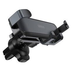 Suport telefon auto JoyRoom, grila ventilatie, negru, JR-ZS211