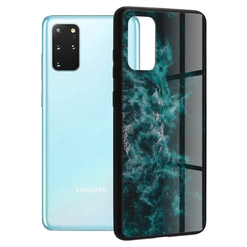 Husa Samsung Galaxy S20 Plus Techsuit Glaze, Blue Nebula