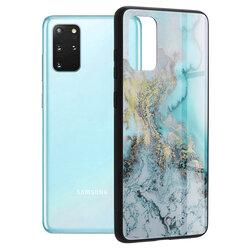 Husa Samsung Galaxy S20 Plus Techsuit Glaze, Blue Ocean