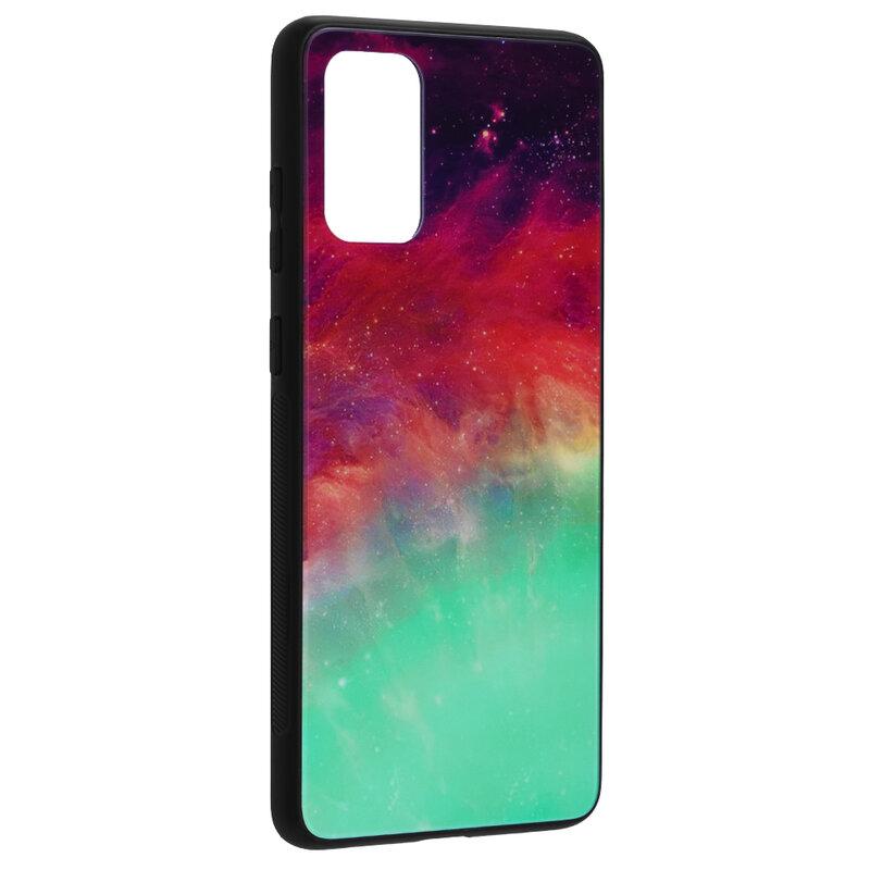 Husa Samsung Galaxy S20 Plus Techsuit Glaze, Fiery Ocean