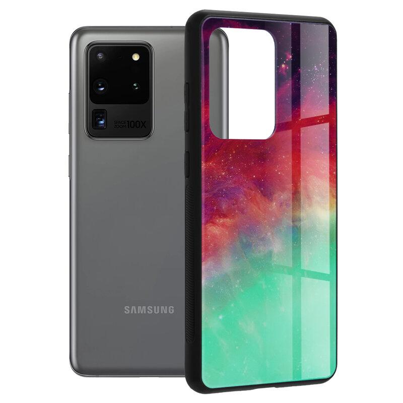 Husa Samsung Galaxy S20 Ultra 5G Techsuit Glaze, Fiery Ocean