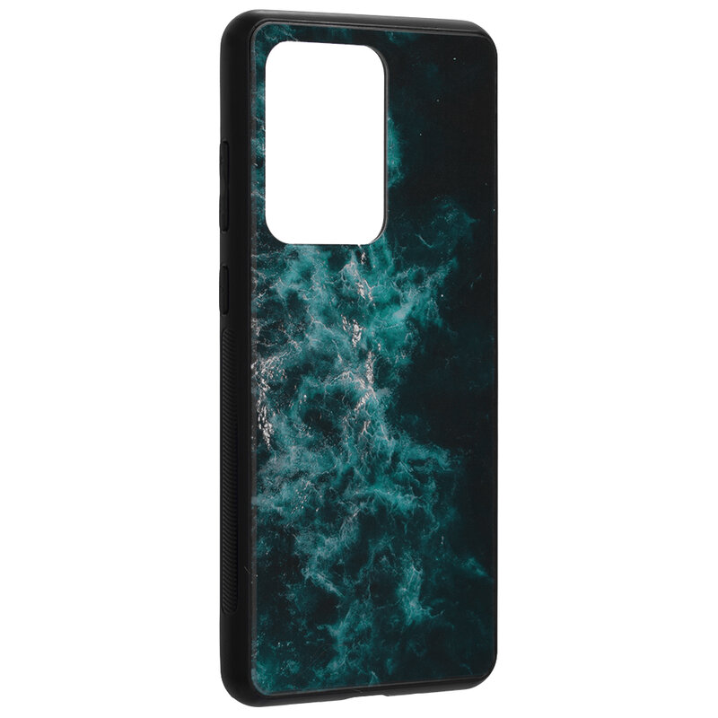Husa Samsung Galaxy S20 Ultra 5G Techsuit Glaze, Blue Nebula
