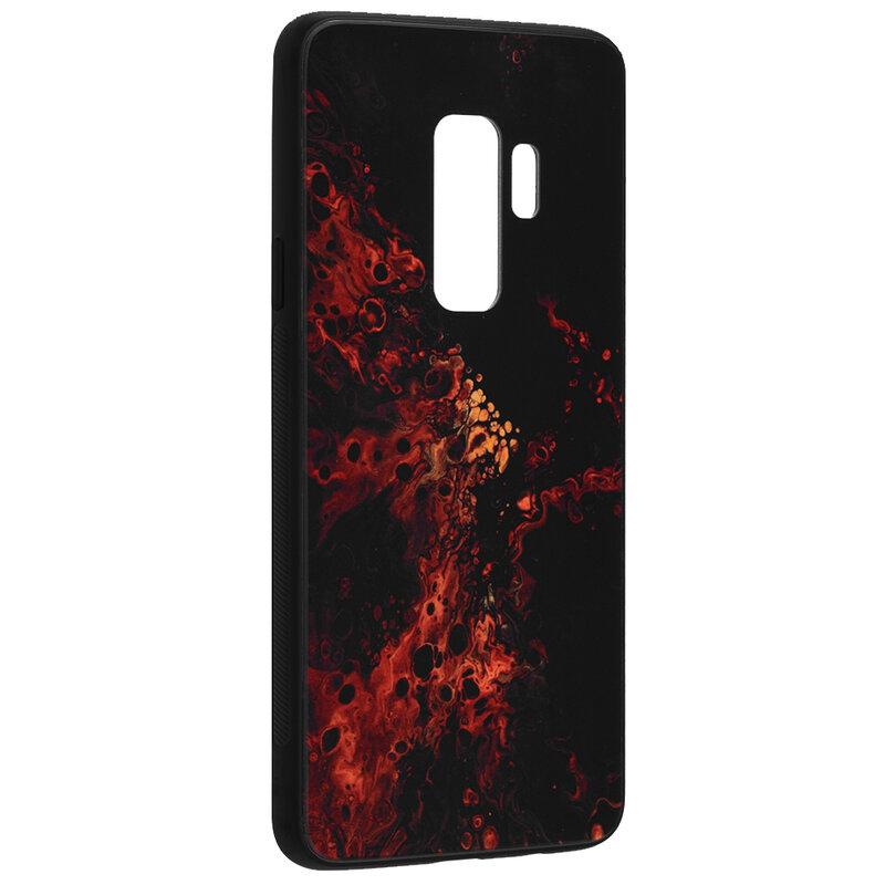 Husa Samsung Galaxy S9 Plus Techsuit Glaze, Red Nebula