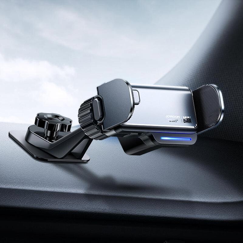 Suport telefon auto bord JoyRoom, electric, negru, JR-ZS218