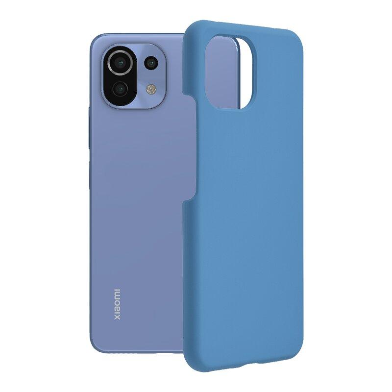 Husa Xiaomi Mi 11 Lite Techsuit Soft Edge Silicone, albastru