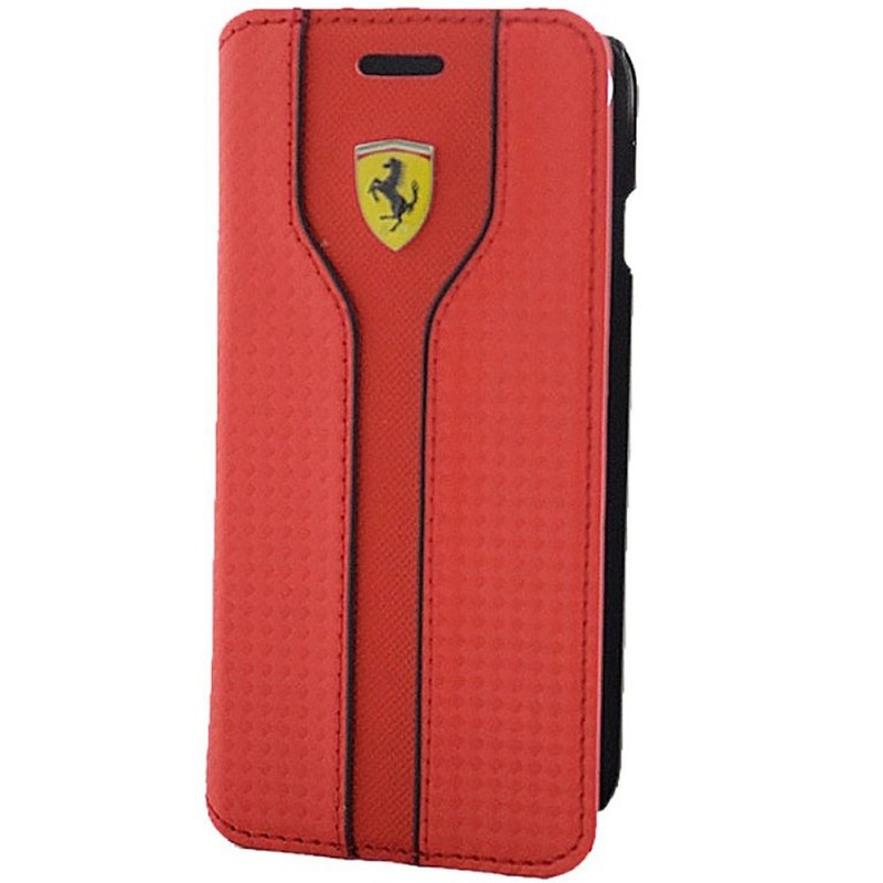 Husa iPhone 7 Ferrari Book - Rosu FEST2FLBKP7RE