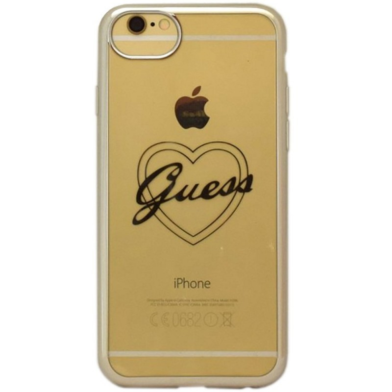 Bumper iPhone 7 Guess - Silver GUHCP7TRHS