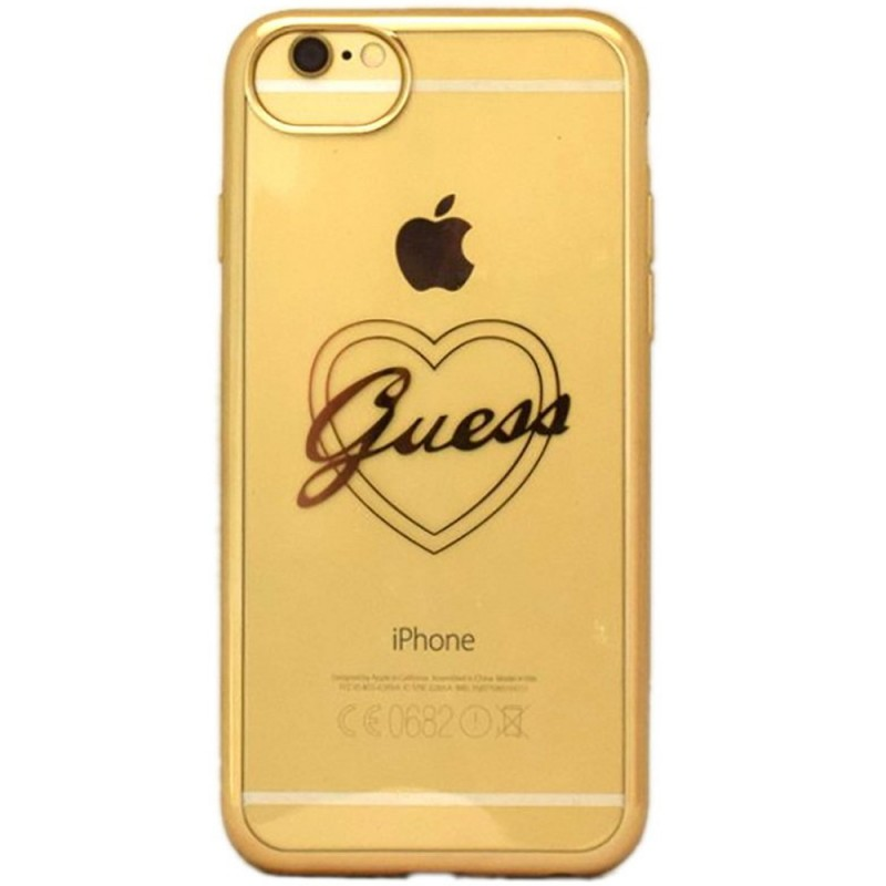 Bumper iPhone 7 Guess - Gold GUHCP7TRHG