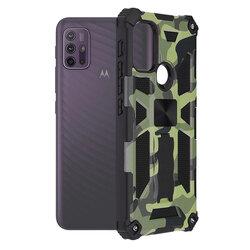 Husa Motorola Moto G10 Techsuit Blazor, camuflaj